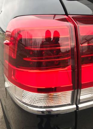 Фонари задние LED для Toyota Land Cruiser 200 в стиле 2016 г. LC
