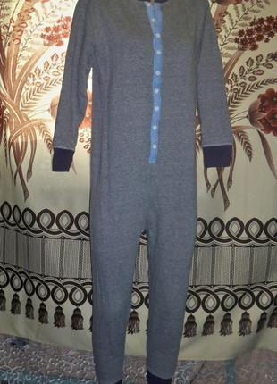 Фирменная пижама-слип кигуруми next, 11р-146 см, футужама, бан...