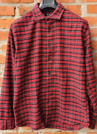 Мужская байковая рубашка