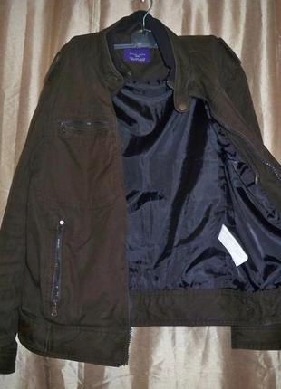 """Фірмова базова осіння куртка zara man, l, в""""єтнам."""