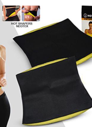 Утягивающий пояс для похудения Hot Belt Hot Shapers Power Черный