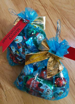 Новогодние подарки, Святой Николай конфеты фигурки Hibbi