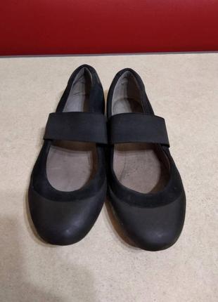 Женские туфли clarks, р. 38, по стельке 24.5 см.