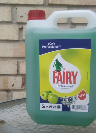 Моющее для посуды Fairy Яблоко из Германии 5 л. есть опт Фейри