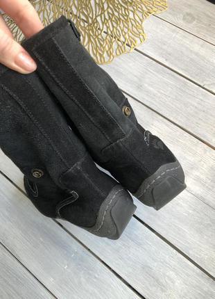 Зимние сапоги на овчине сапожки ботинки на меху