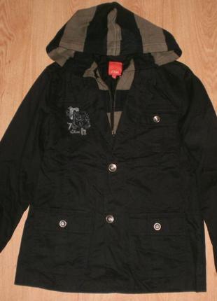 Шикарний стильний ексклюзивний піджачок (куртка) з капюшоном s...