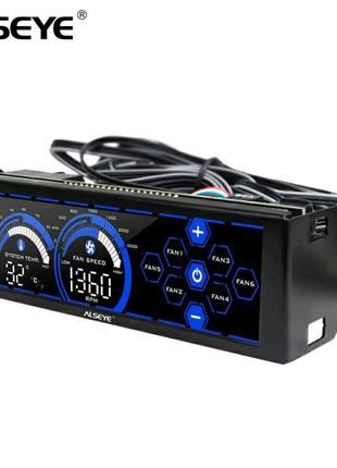 ALSEYE a-100L (R) контроллер вентиляторов 6 каналов сенсорны