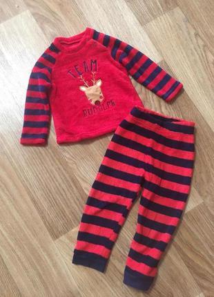Новогодний детский плюшевый костюм  унисекс