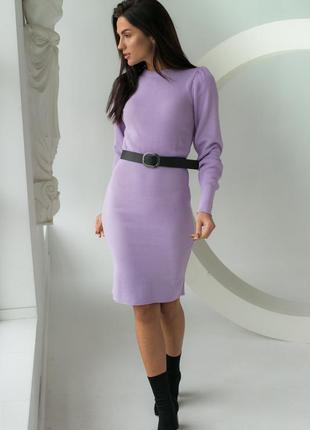 Элегантное платье с длинный рукавом