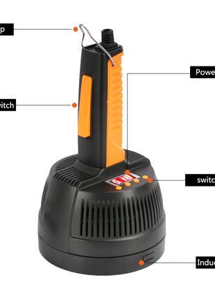 Ручной портативный индукционный запайщик ручний фольгой прибор ба