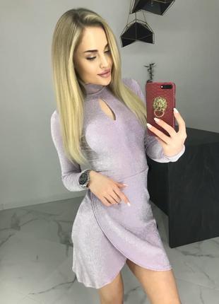 Женское модное вечернее платье.