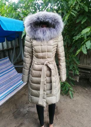Женский зимний пуховик куртка зимняя пальто