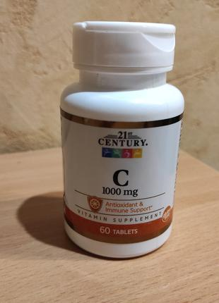 Витамин С 21st Century  500 мг.110 таблеток/1000 мг. 60 таблеток