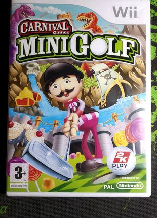 Carnival Games Mini Golf для Wii