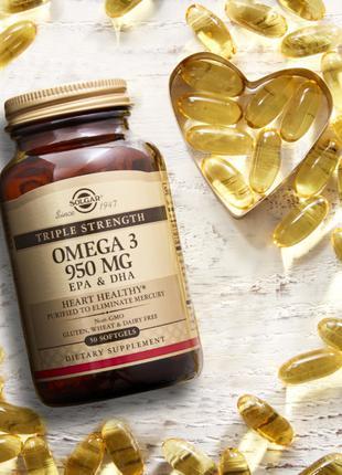 Omega-3, высокая концентрация полиненасыщенных кислот