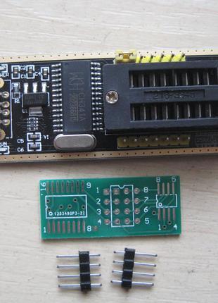 USB програматор CH341A + переходник