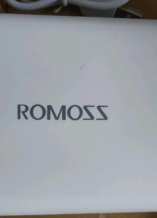 Внешний аккумулятор,Павербанк 20000 Romoss БЕЛЫЙ