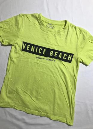 Детская яркая футболка pepco ( пепко 7-8 лет 122-128 см оригин...