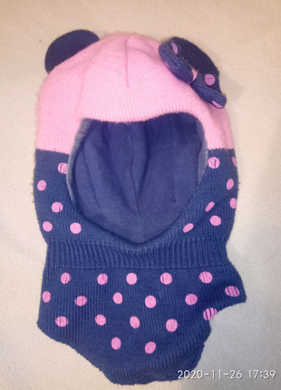 Зимние детские шапки.