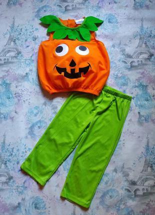 Карнавальный костюм тыква,тыква джека, костюм на хэллоуин