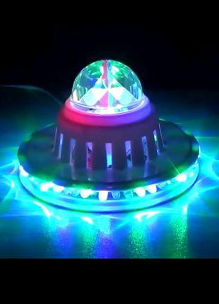 Настольная светодиодная диско лампа SF-0804