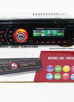 Автомагнитола С Пультом 1DIN MP3-1581BT RGB/Bluetooth автомобильн