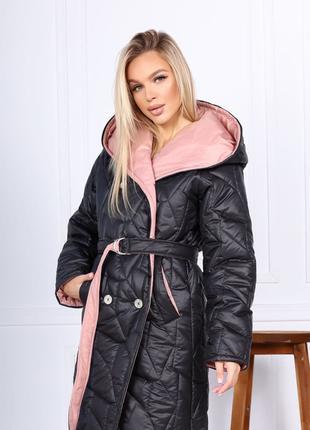 Женское стильное зимние пальто.