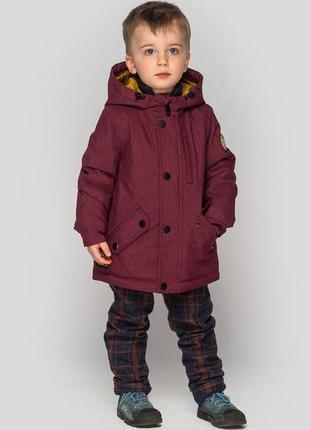 Детская демисезонная куртка на мальчика, дональд ясли