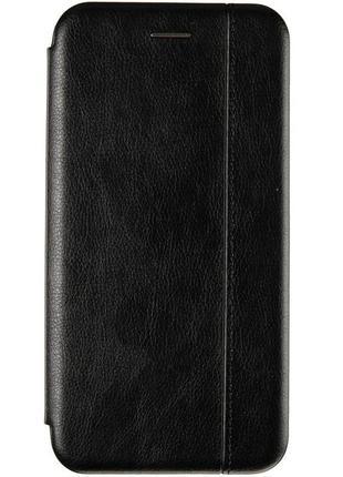 чехол-книжка samsung a31 чёрного цвета