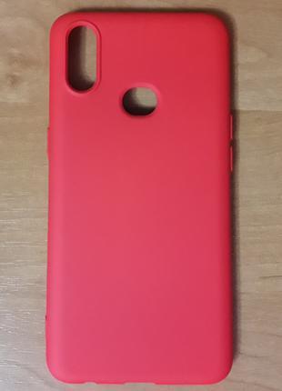 чехол samsung a107 (a10s) red
