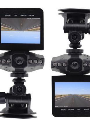Автомобильный видеорегистратор DVR-027 HD (H-198) 1280×720 регист