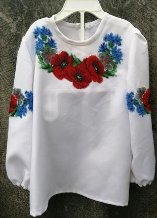 Детская украинская народная вышиванка