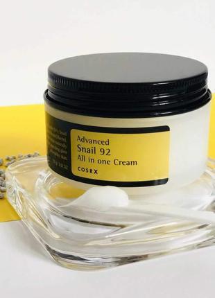 Крем с экстрактом улитки cosrx advanced snail 92 all in one cream