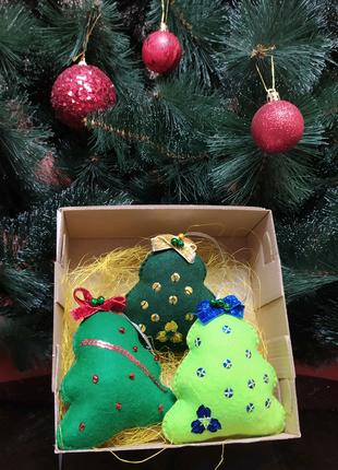 Безопасные ёлочные игрушки сувенир новый год подарок новогодний