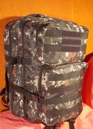 Рюкзак тактический bagstar 1333 пиксель темный 45 литров