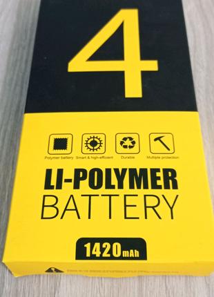 Аккумулятор Golf iPhone 4 1420 mah АКБ батарея недорогая