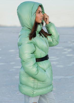 Теплая зимняя куртка, пуховик