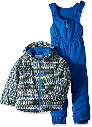 Зимний костюм из полукомбинезона и курточки frosty slope
