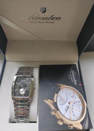 Швейцарские часы Adriatica 1071.1069.5 новые.