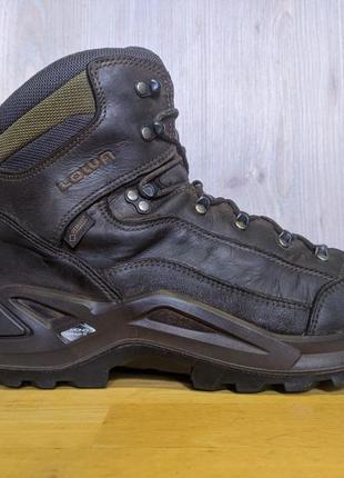 Ботинки кожаные lowa renegade gtx, gore-tex