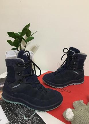 Термо ботинки lowa calcetina gtx 33 gore tex сапоги