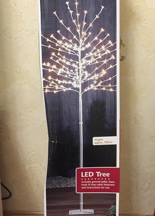 Новогоднее дерево led melinera светильник ночник светодиодное ...