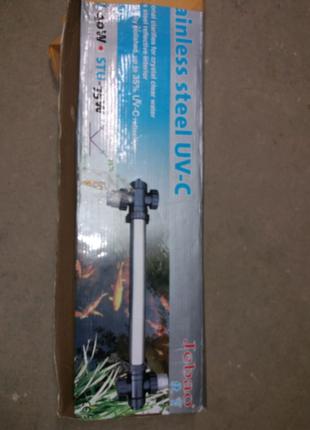 УФ-осветлитель Jebao STU из нержавеющей стали (75 Вт)