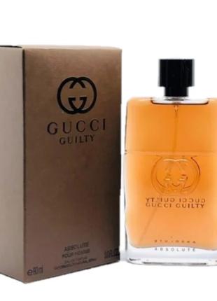 Gucci Guilty Absolute Pour Homme Мужская парфюмерная вода 90 ml