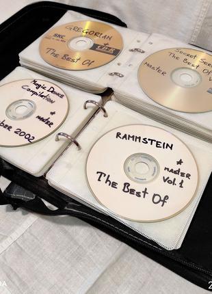 Органайзер, чехол, сумка для CD/DVD на 96 дисков. Киев