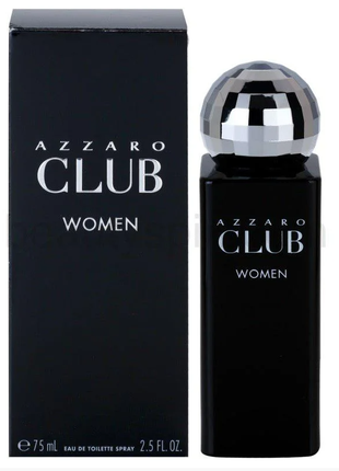 Azzaro Club Woman Туалетная вода 100 ml