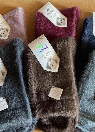 Норковые женские носки