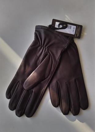 Новые перчатки roeckl, munich утеплённые мужские 100% кожа раз...