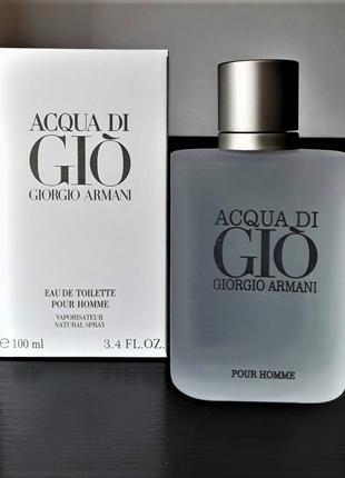 Мужские духи Giorgio Armani Acqua Di Gio Men Pour Homme 100 мл