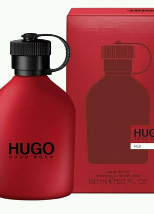 Hugo Boss red мужской одеколон 150 мл